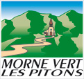 Blason Morne-Vert-les-Pitons