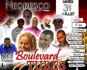 Negresco - Boulevard des tubes