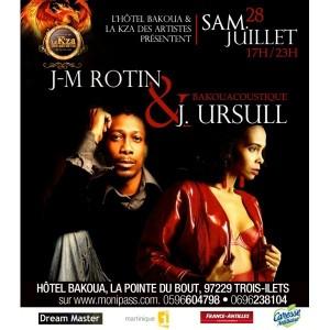 J-M Rotin et Joelle Ursulle