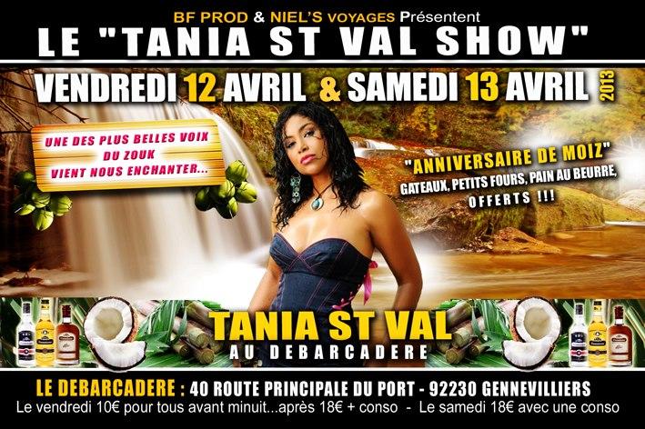 Tanya saint val au d barcad re l 39 or des les - 37 route principale du port gennevilliers ...