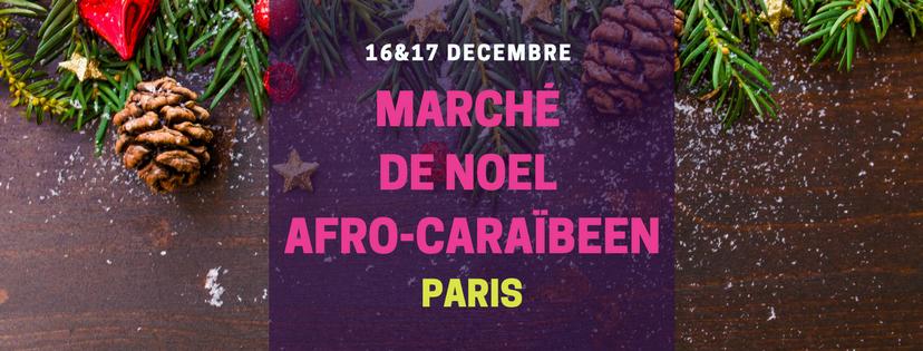Paris –  le Marché de Noël Afro-Caraïbéen