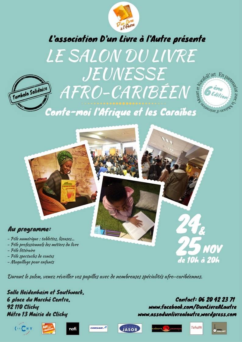 Clichy – Salon du livre jeunesse afro-caribéen 2017