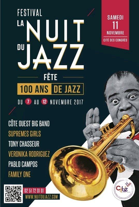 Tony Chasseur – Festival la Nuit du jazz