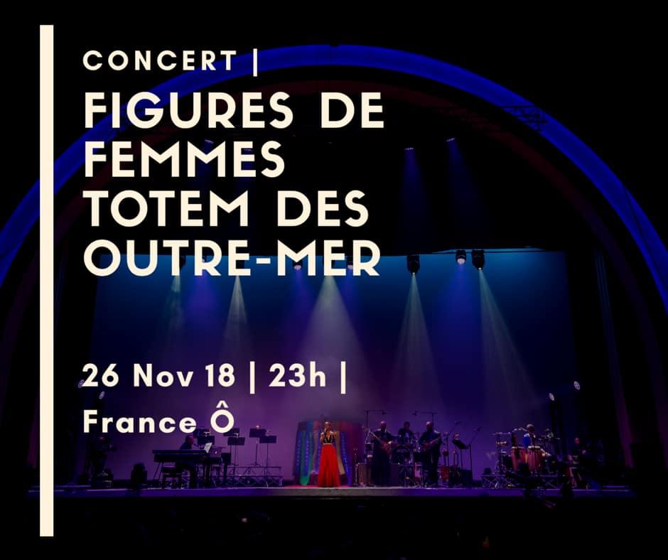 Concert – Figures de Femmes Totem des Outre-mer